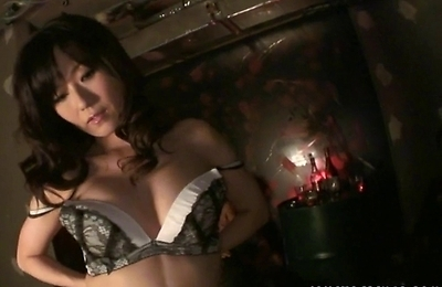 fucked, manami, masturbation, sex toys, sexy stockings, stockings, vibrator,